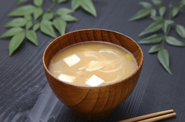 Healthy snacks: Miso soup