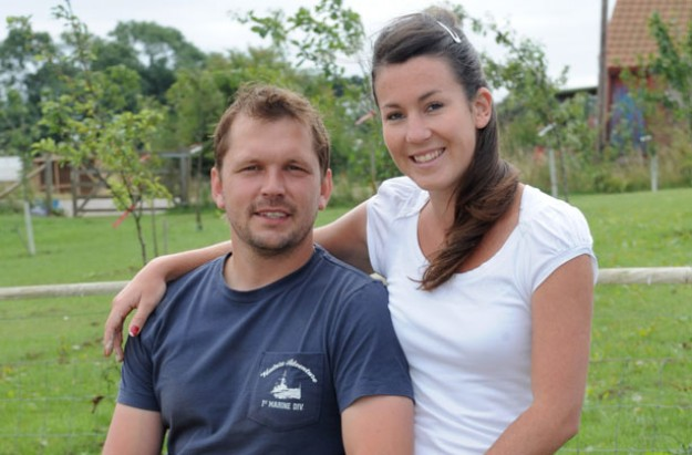 Jimmy Doherty and partner Michaela