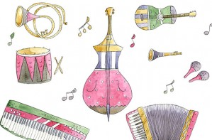 instruments, music