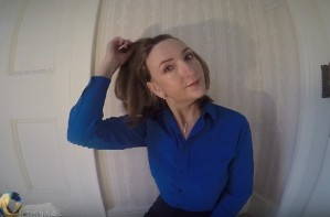 Victoria Derbyshire hair loss chemotherapy video