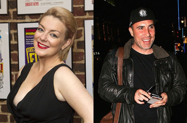 Sheridan Smith and greg wood