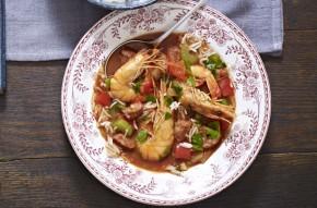 Healthy jambalaya soup
