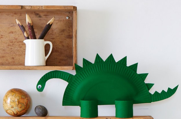 how to make a paper dinosaur goodtoknow