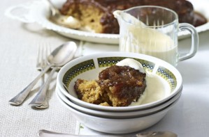 Guinness sicky toffee pudding