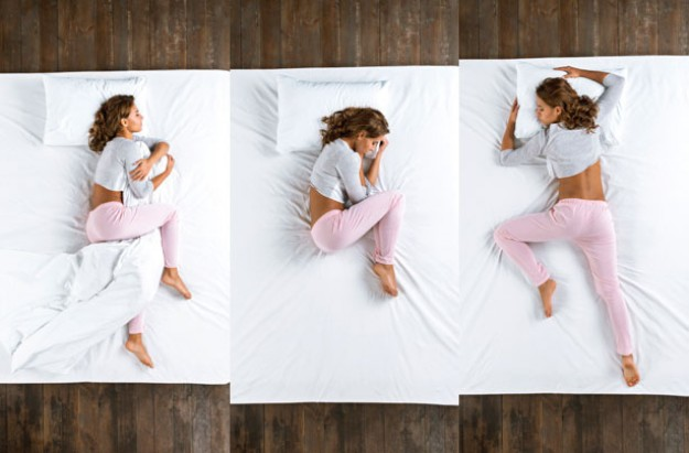 Sleeping positions, sleep positions, woman sleeping, asleep, sleep