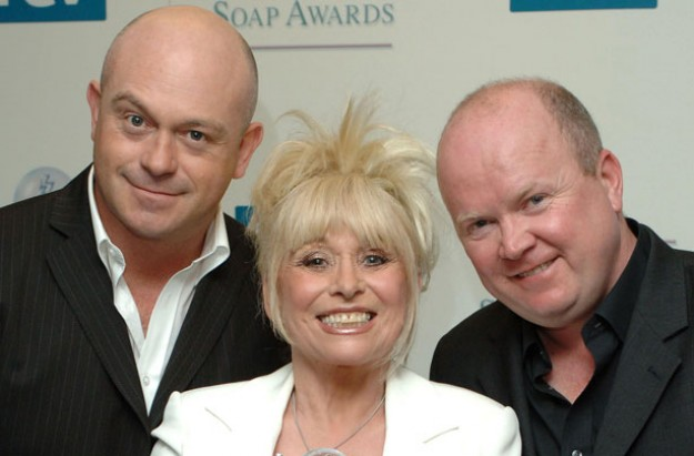 Ross Kemp, Barbara Windsor and Steve McFadden face swap
