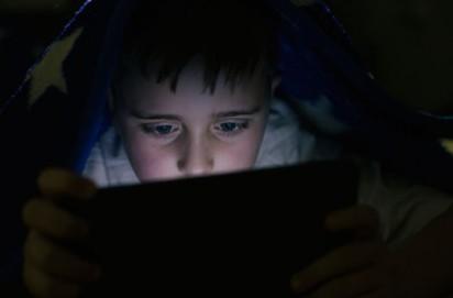 online data ,computer, child