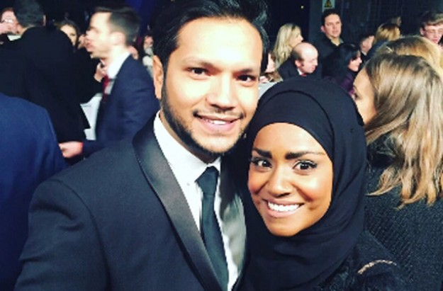 #NadiyaBakes - Nadiya with husband Abdal at NTAs