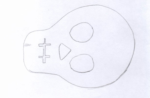 Free skull template