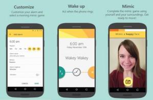 Mimicker app alarm clock