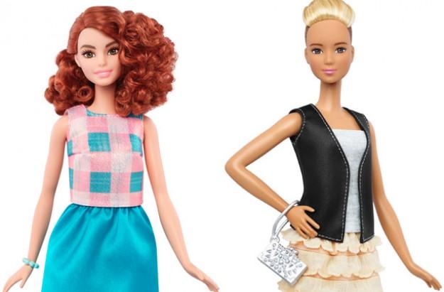New diverse barbies, barbie