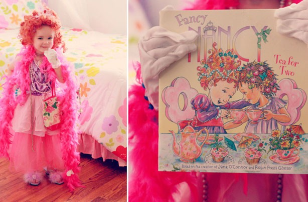 Fancy Nancy World Book Day Costume