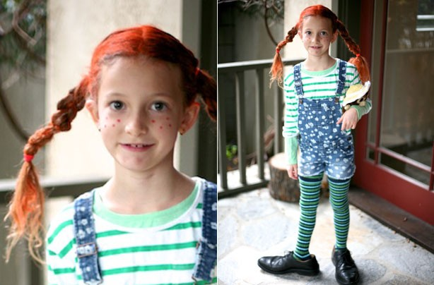 Pippy Longstocking World Book Day Costume