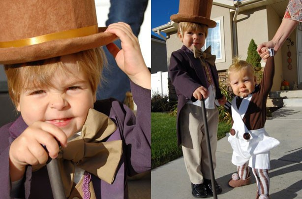 Willy Wonka World Book Day Costume