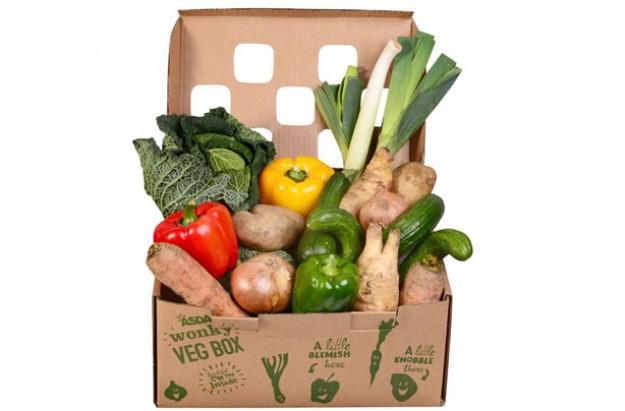 ASDA wonky veg boxes