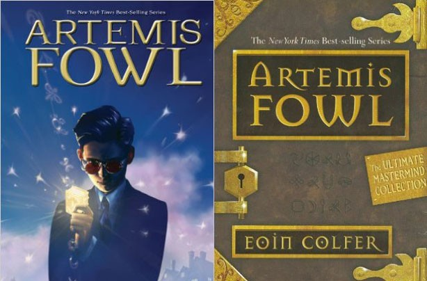 children's books, kid's books, Artemis Fowl