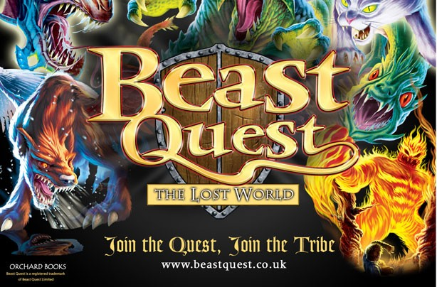 children's books, kid's books, Beast Quest