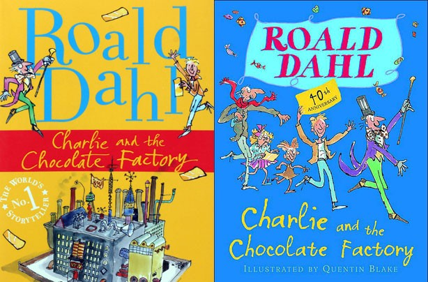 children's books, kid's books, Charlie and The Chocolate Factory