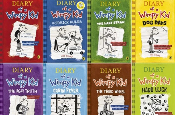 children's books, kid's books, Diary of a Wimpy Kid