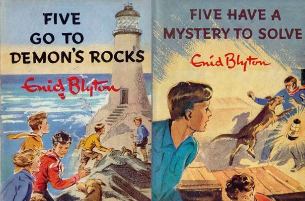 children's books, kid's books, Famous Five