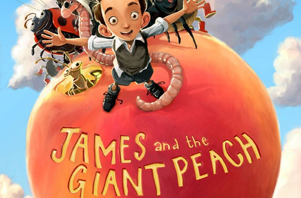 children's books, kid's books, James and the Giant Peach