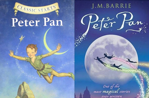 children's books, kid's books, Peter Pan