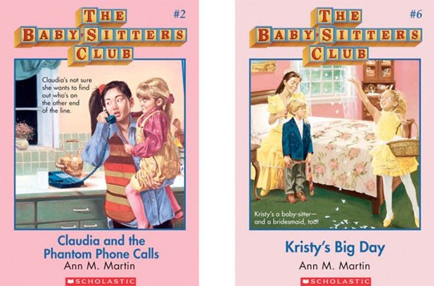 children's books, kid's books, The Baby-Sitters Club