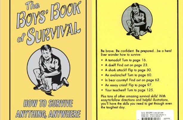 children's books, kid's books, The Boys' Book of Survival
