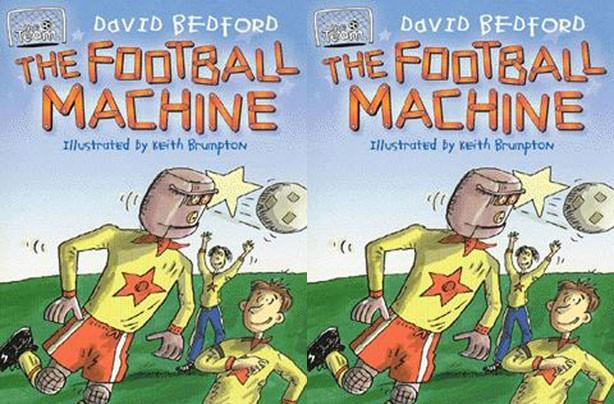 children's books, kid's books, The Football Machine