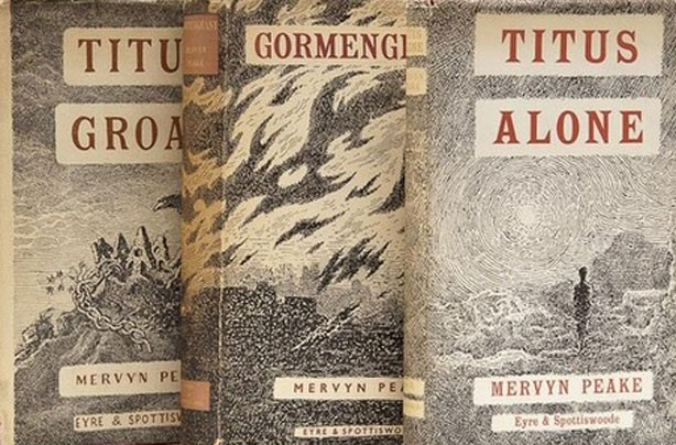 children's books, kid's books, The Gormenghast Trilogy