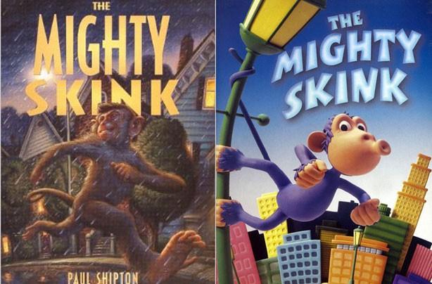 children's books, kid's books, The Mighty Skink