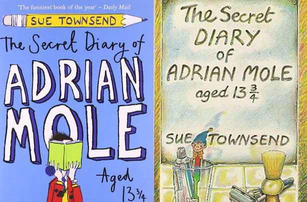 children's books, kid's books, The Secret Diary of Adrian Mole