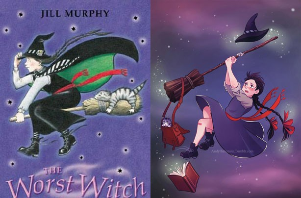 children's books, kid's books, Worst Witch