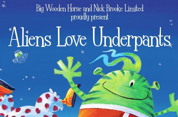 children's books, kid's books, Aliens Love Underpants