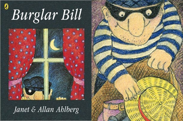 children's books, kid's books, Burglar Bill