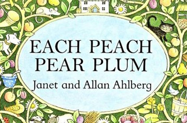 children's books, kid's books, Each Peach Pear Plum