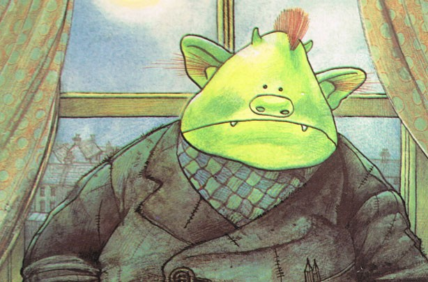 children's books, kid's books, Fungus the Bogeyman