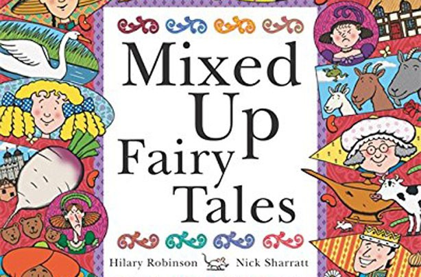children's books, kid's books, Mixed Up Fairy Tales