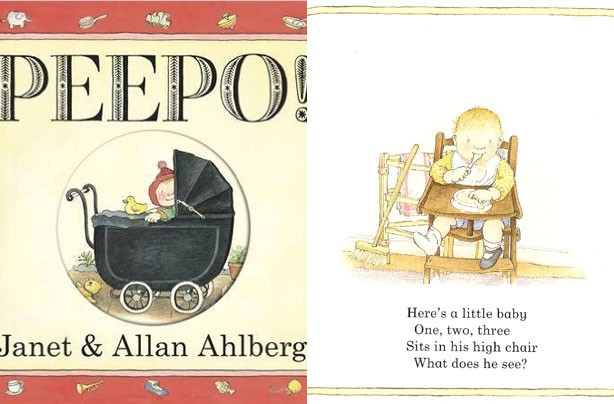 children's books, kid's books, Peepo!