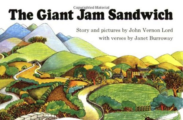 children's books, kid's books, The Giant Sandwich