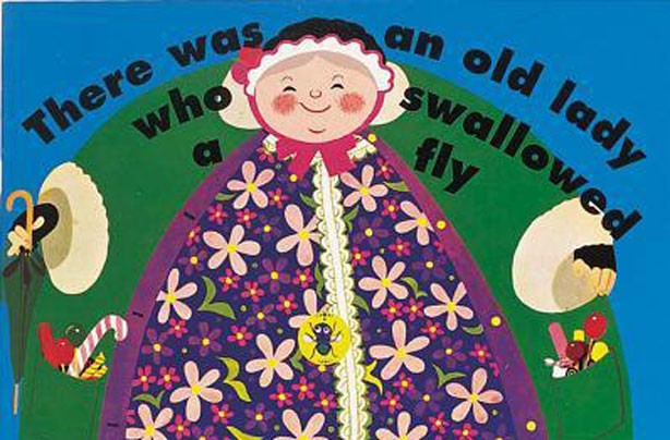 children's books, kid's books, The Old Lady Who Swallowed A Fly