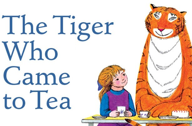 children's books, kid's books, The Tiger Who Came For Tea