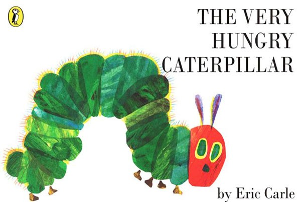 children's books, kid's books, The Very Hungry Caterpillar