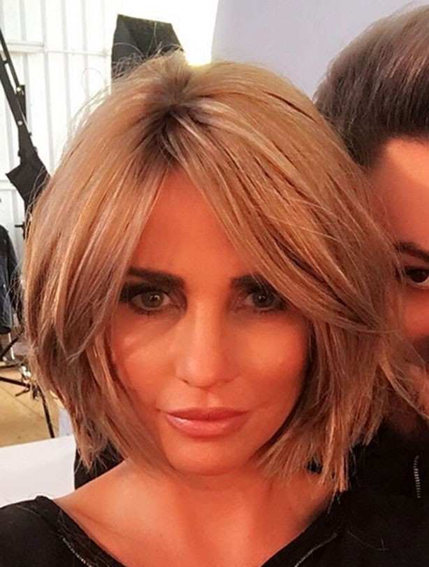 Short haircuts - Katie Price
