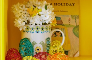 Easter craft jug