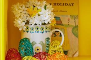 Easter craft jug