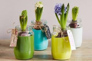 Easter craft plant pots