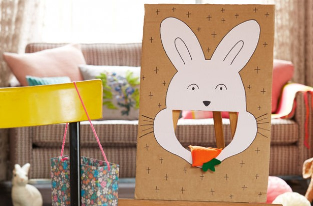 Easter craft rabbit game