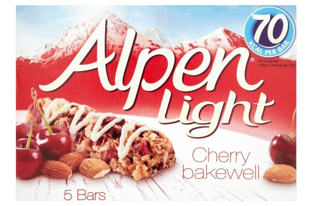 Best and worst cereal bars alpen