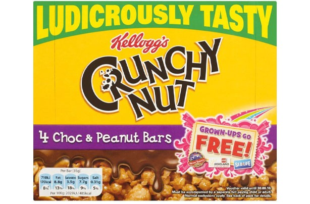 Best and worst cereal bars crunchy nut